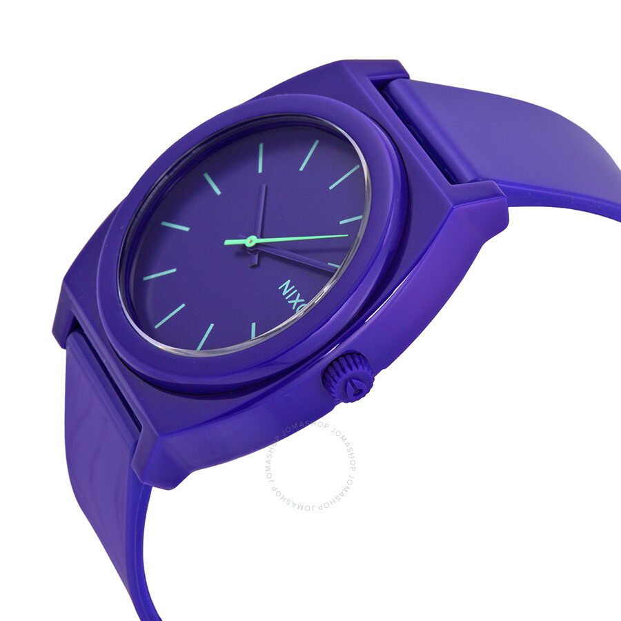 Watch Links Nixon Purple: Nixon Time Teller P Purple Men's Watch A119230