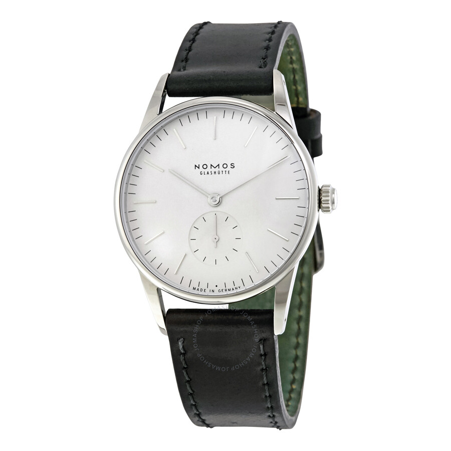 274659de370 Nomos Orion Weib White Dial Stainless Steel Unisex Watch