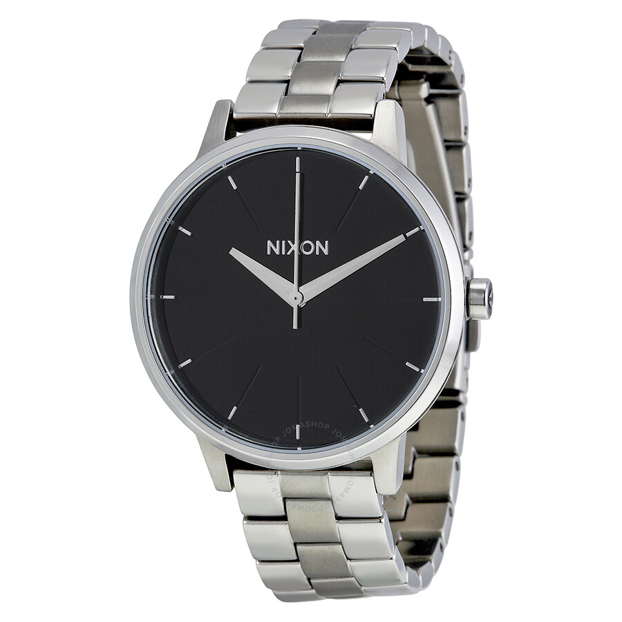 f0f5c3c0c Open Box - Nixon Kensington Black Dial Stainless Steel Laides Watch A099000