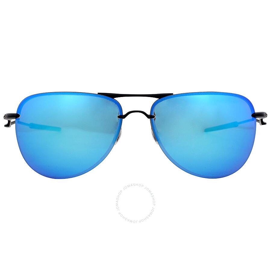 58bc0602ed Oakley Tailpin Sport Sunglasses - Satin Black Sapphire Iridium ...