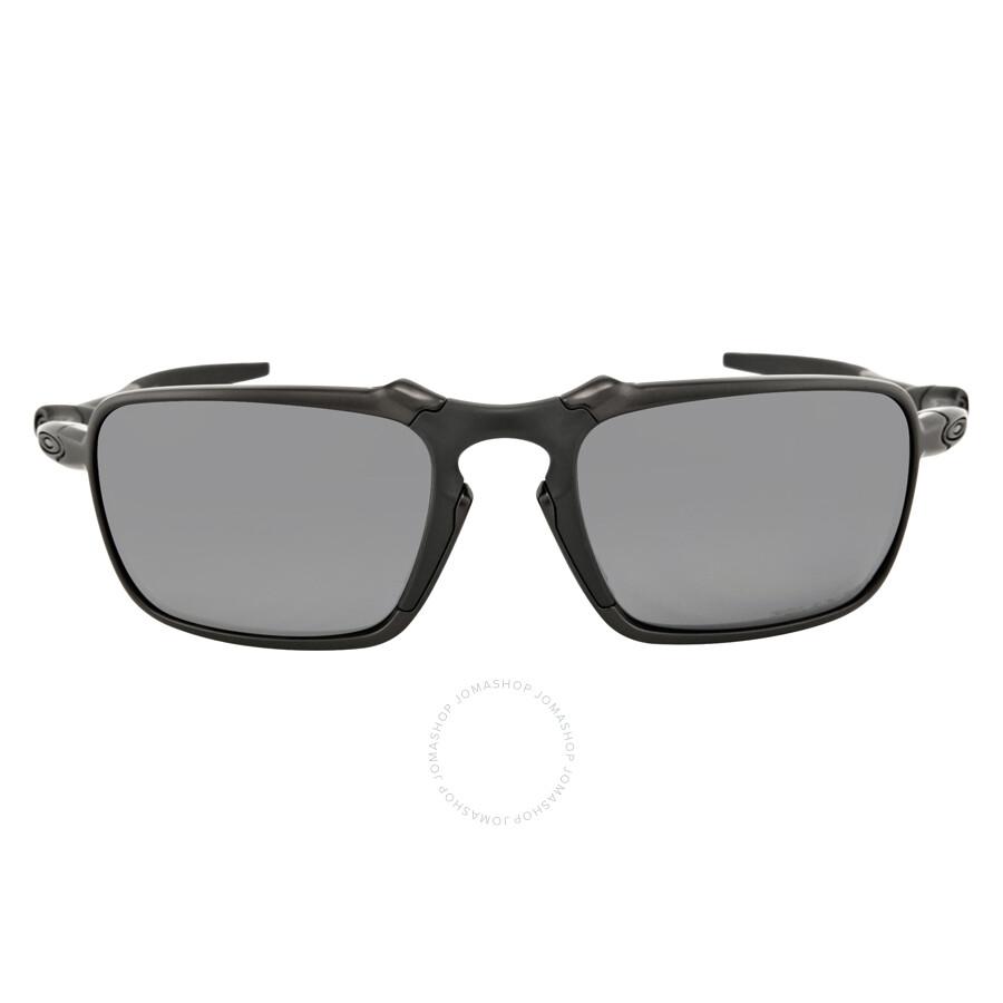 98c8160697 Oakley Badman Black Iridium Polarized Men s Sunglasses OO6020-602001-60 ...