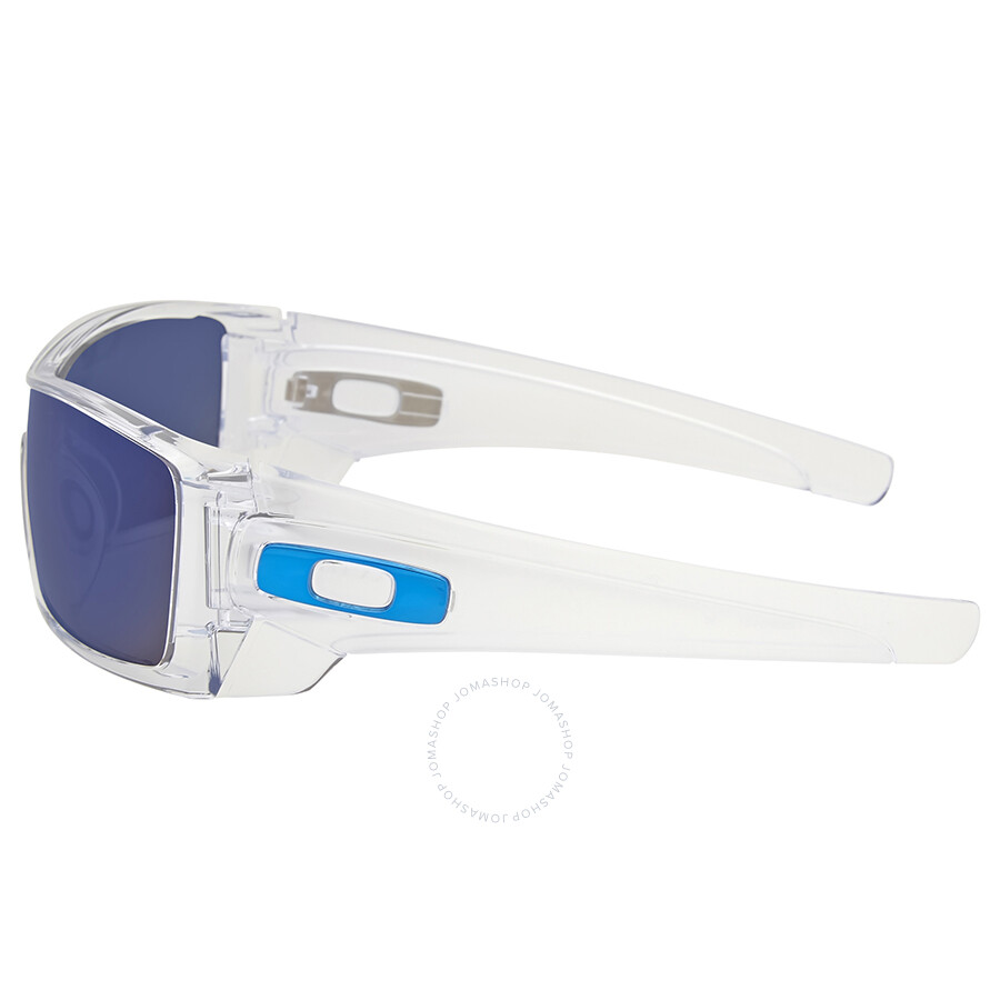 da39f9e558 ... Oakley Batwolf Clear Ice Iridium Sunglasses OO9101-910107-27 ...