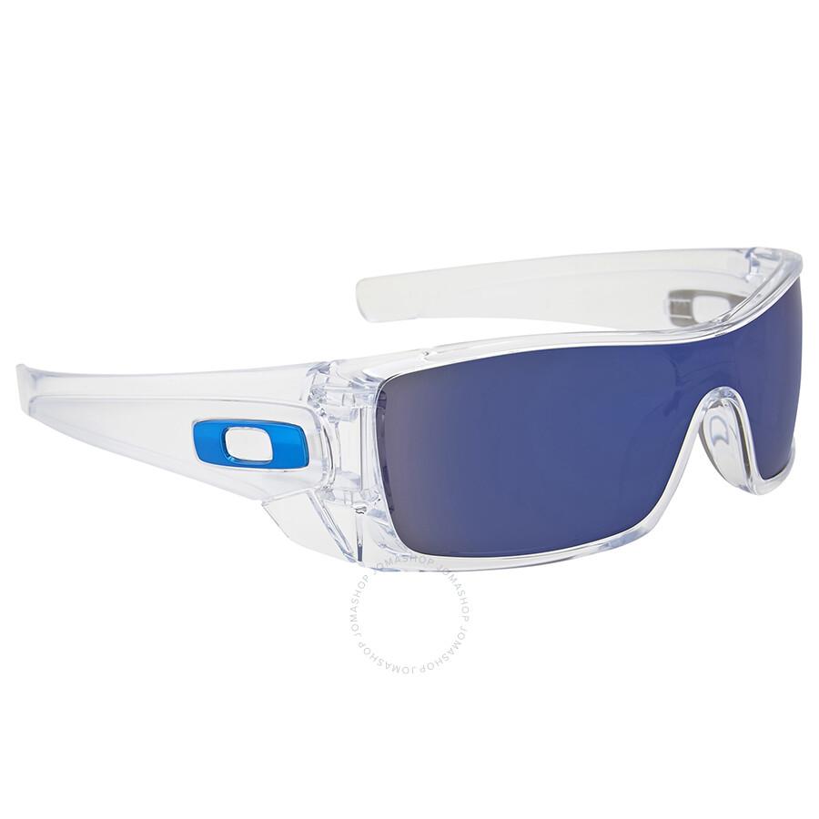 1cc0957e7d9 Oakley Batwolf Clear Ice Iridium Sunglasses OO9101-910107-27 ...