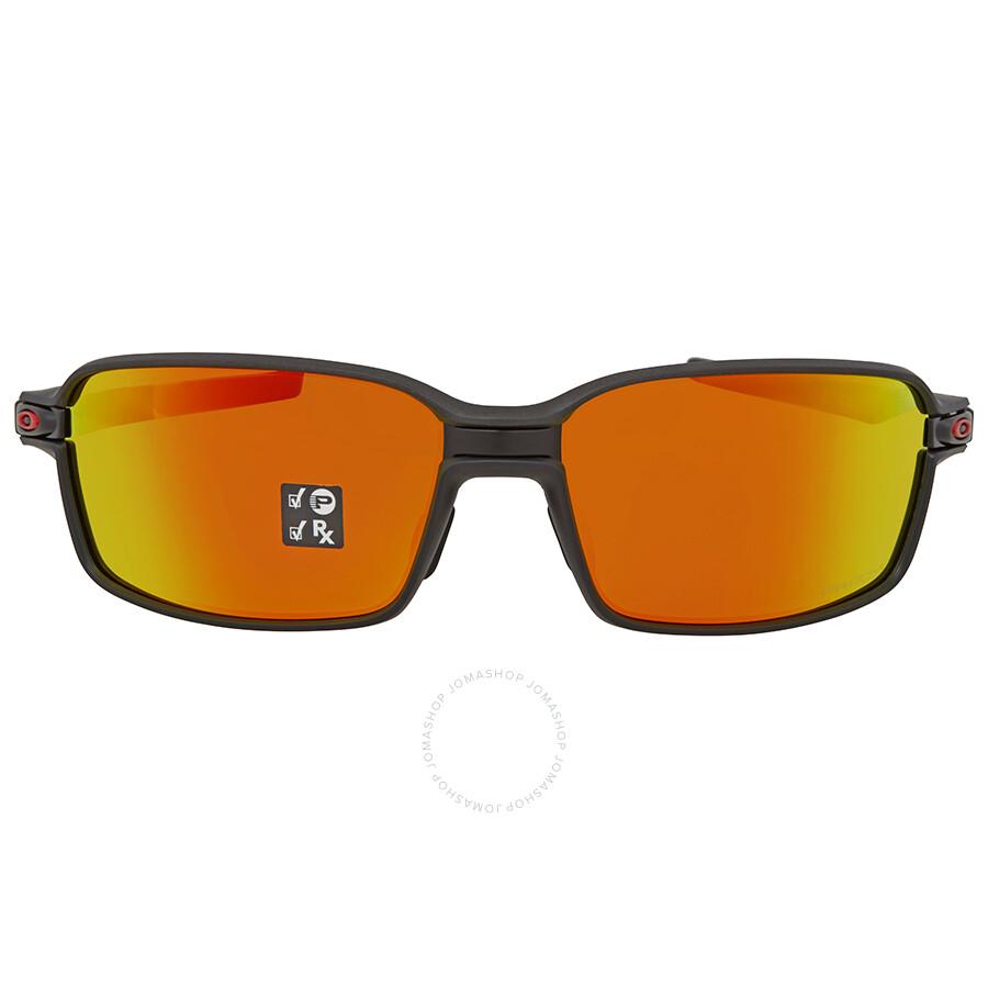 6cb617937b ... Oakley Carbon Prime Limited Edition Prizm Ruby Polarized Rectangular  Men s Sunglasses OO6021 602103 63 ...