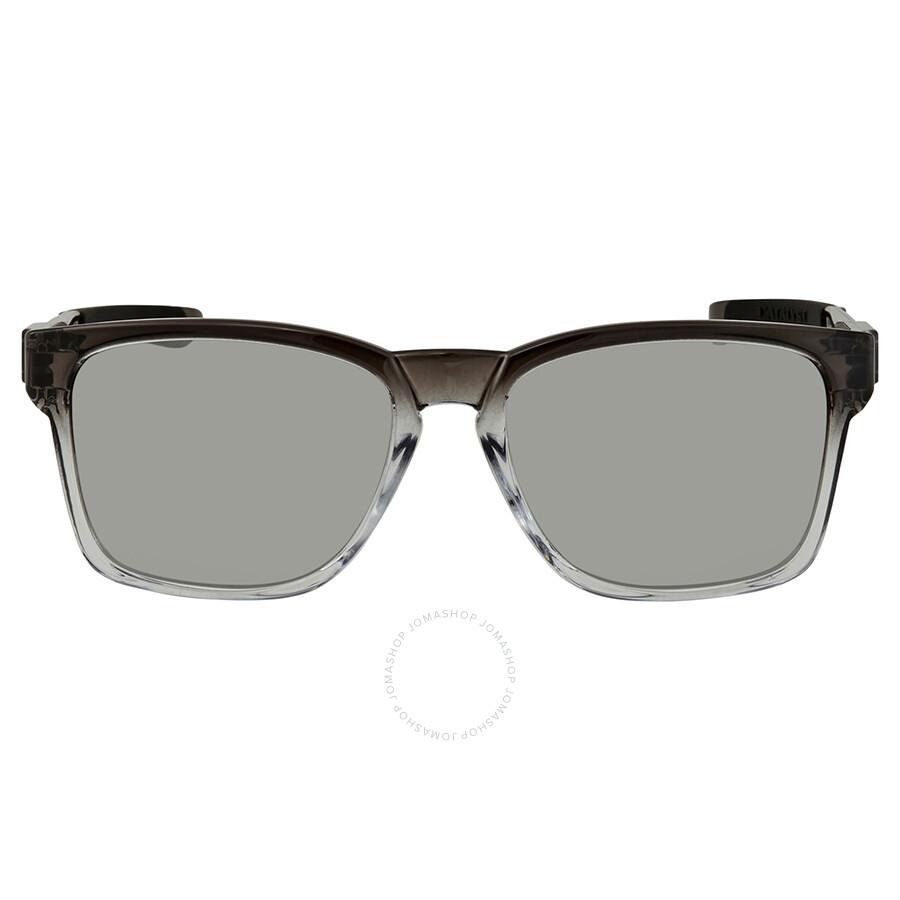 3e6048ee60e3af ... Oakley Catalyst Chrome Iridium Men s Sunglasses OO9272-927218-55 ...