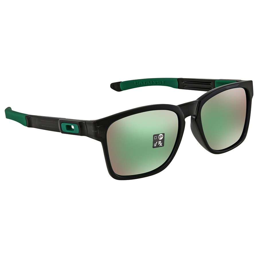 39bc098799e Oakley Catalyst Prizm Jade Rectangular Sunglasses OO9272 927226 55 ...
