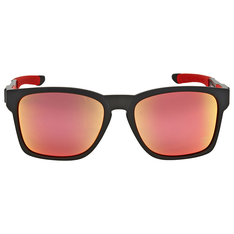 6d6f3a69e3 ... oakley catalyst scuderia ferrari ruby iridium sunglasses ...