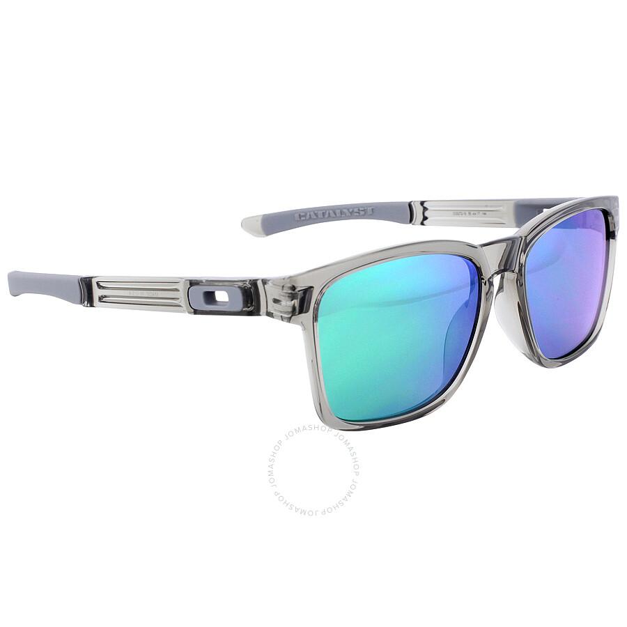 c90b5ccc9b4 Oakley Catalyst Sports Sunglasses - Grey Ink   Jade Iridium - Oakley ...