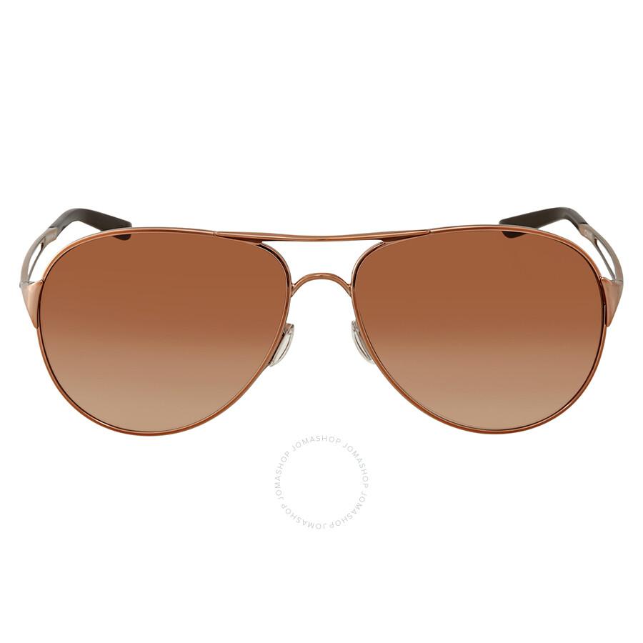 efb43848c23c3 ... Oakley Caveat Brown Gradient Aviator Ladies Sunglasses OO4054-405401-60  ...