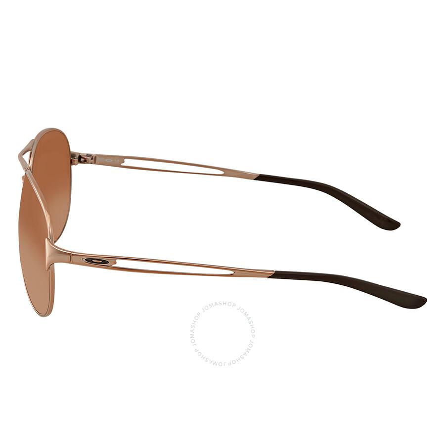 0df1e5b7f5931 ... Oakley Caveat Brown Gradient Aviator Ladies Sunglasses OO4054-405401-60