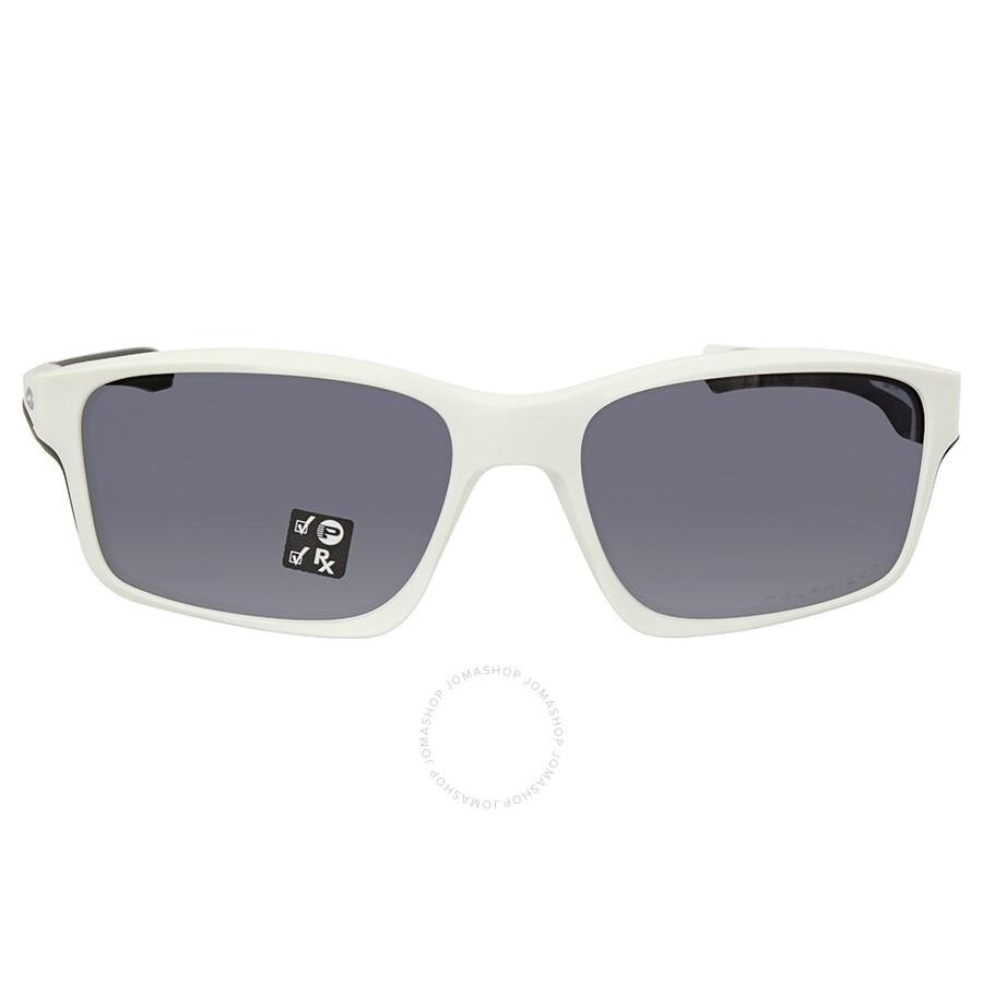 9bbb4661ce694 Oakley Chainlink Grey Polarized Sunglasses OO9247-924707-57 - Oakley ...