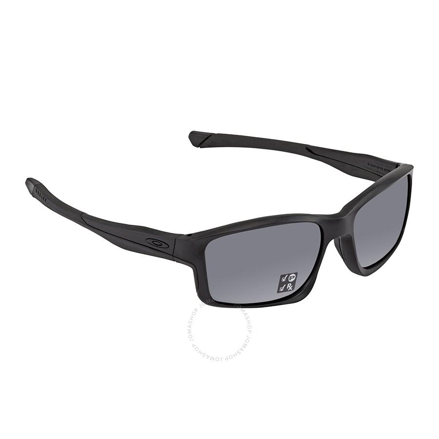 9288aee43dde1 Oakley Chainlink Polarized Grey Rectangular Sunglasses OO9247-924715-57 ...