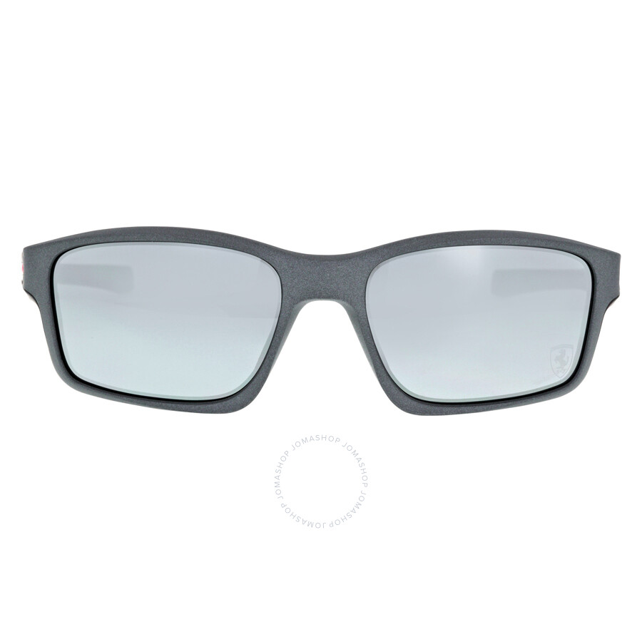 fe96f3ab3e0 Oakley Chainlink Sport Sunglasses - Matte Steel Black Iridium Item No.  0OO9247-924713-57