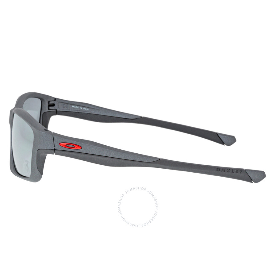 f0a8998839 ... Oakley Chainlink Sport Sunglasses - Matte Steel Black Iridium ...