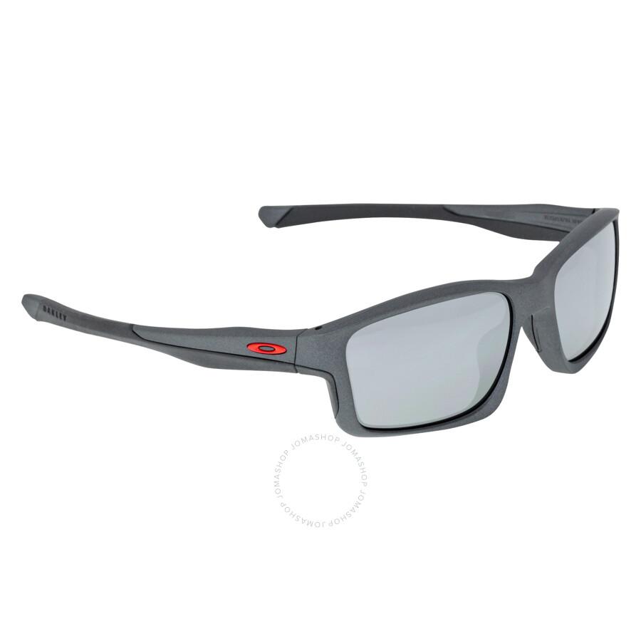Oakley Chainlink Sport Sunglasses - Matte Steel/Black ...