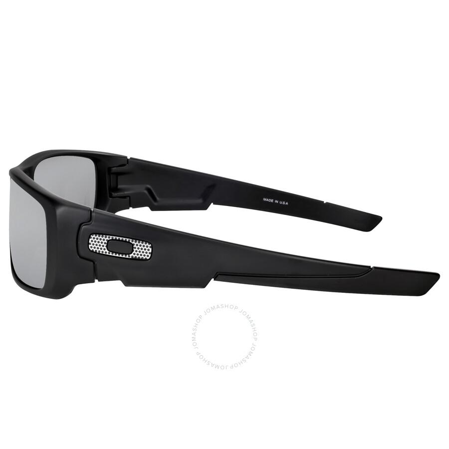 80f61931c97 Oakley Crankshaft Machinist Sunglasses - Matte Black Chrome - Oakley ...