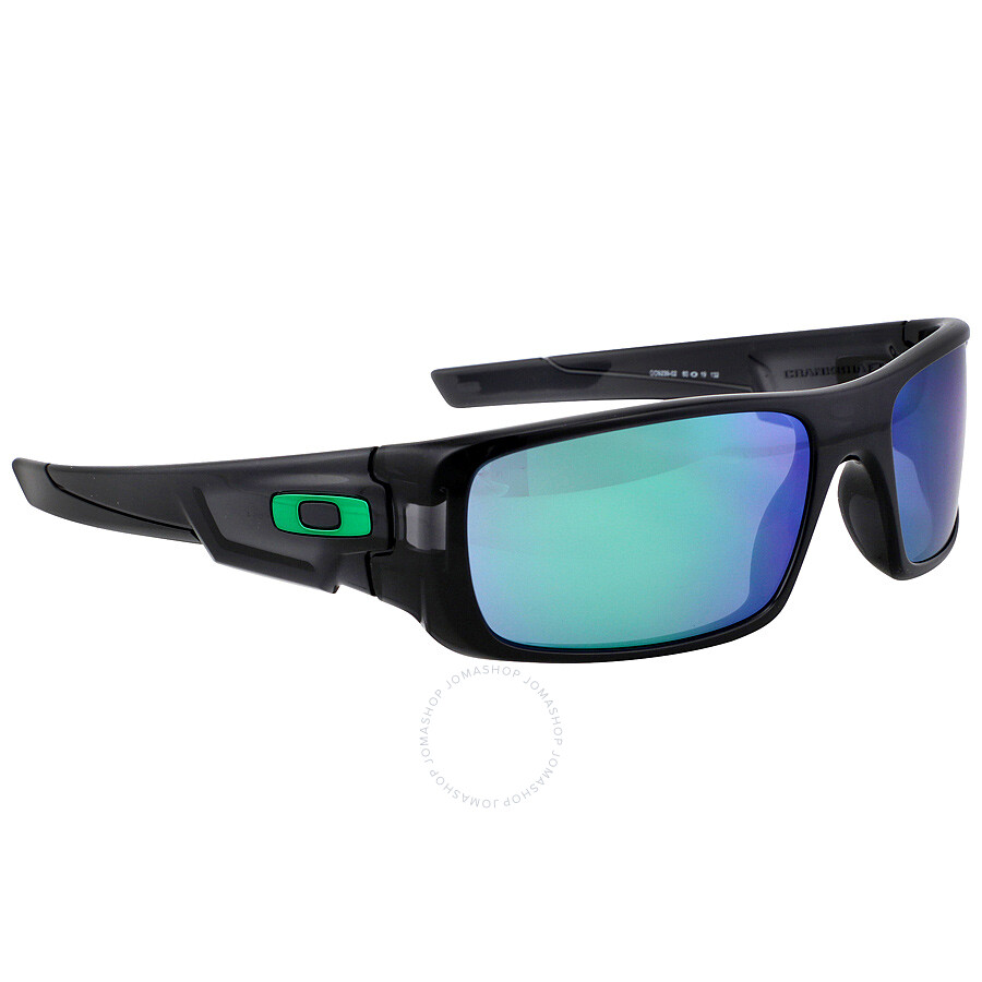 240295a5e56b Oakley Crankshaft Sport Sunglasses - Black Ink/Jade Iridium - Oakley ...