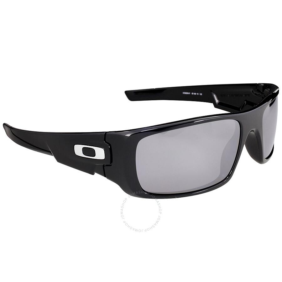 Oakley Crankshaft Sport Sunglasses - Polished Black/Black ...