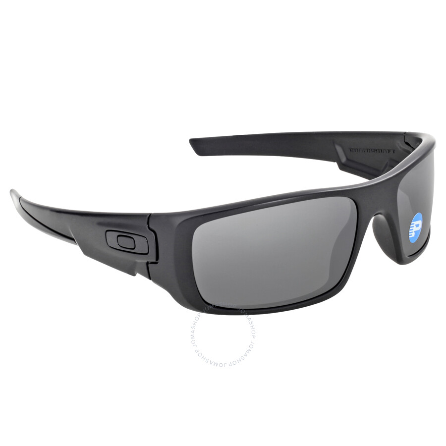 420b9fd19d Oakley Crankshaft Sunglasses - Matte Black Black Polarized - Oakley ...