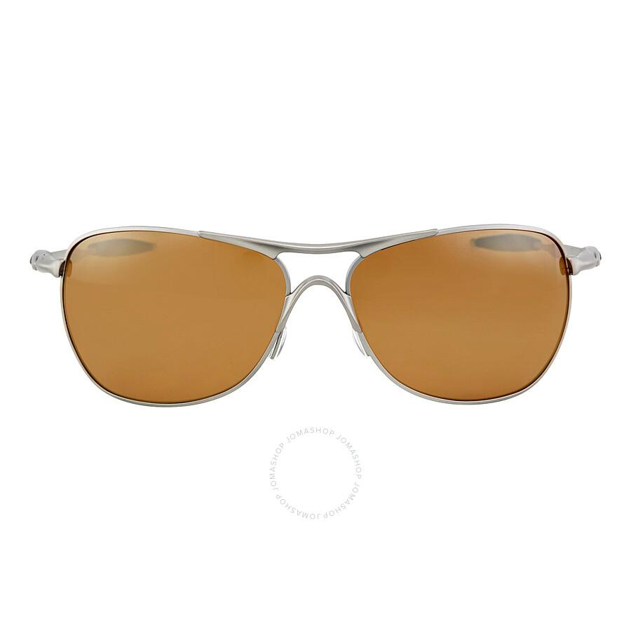 0a51285ea5f Oakley CrossHair Tangsten Iridium Polarized Sunglasses OO6014-601401-61 ...