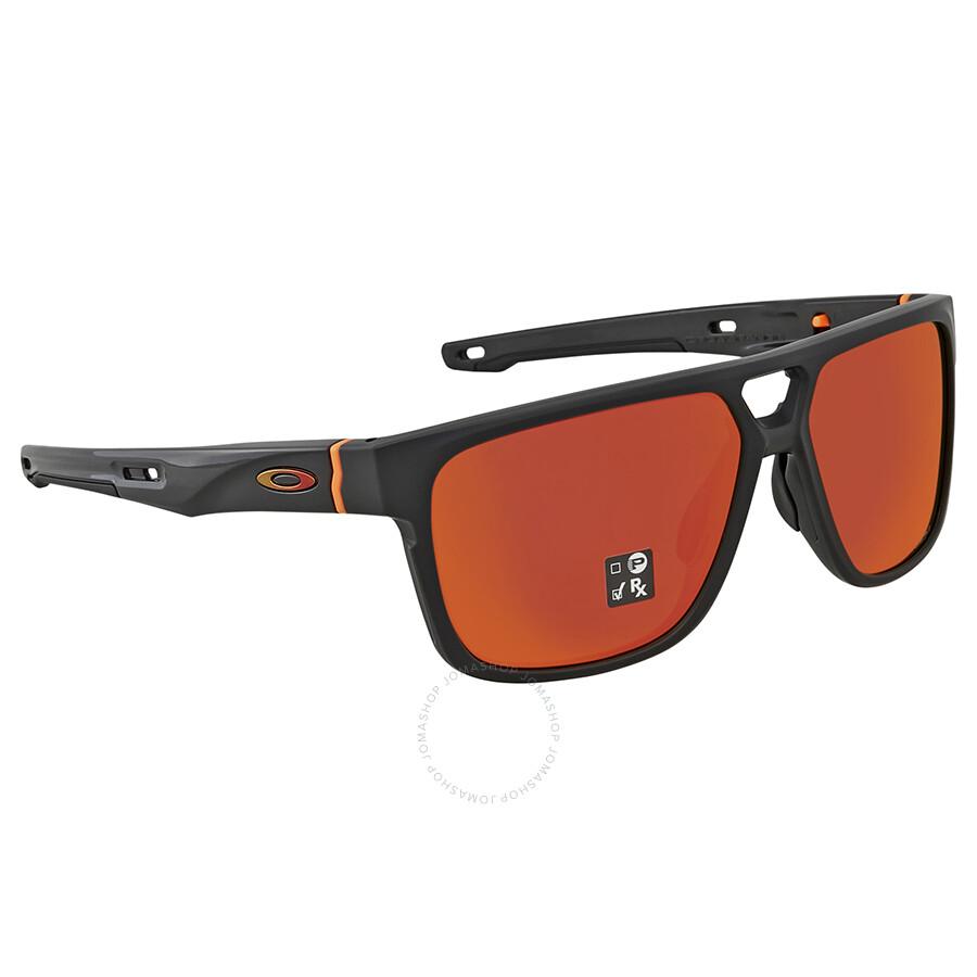 e025dd221fe Oakley Crossrange Patch Prizm Ruby Square Men s Sunglasses 0OO9382 938209  60 ...