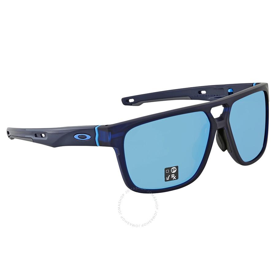 c5cf11f264e Oakley Crossrange Patch Prizm Sapphire Square Asia Fit Sunglasses OO9391  939104 60 ...