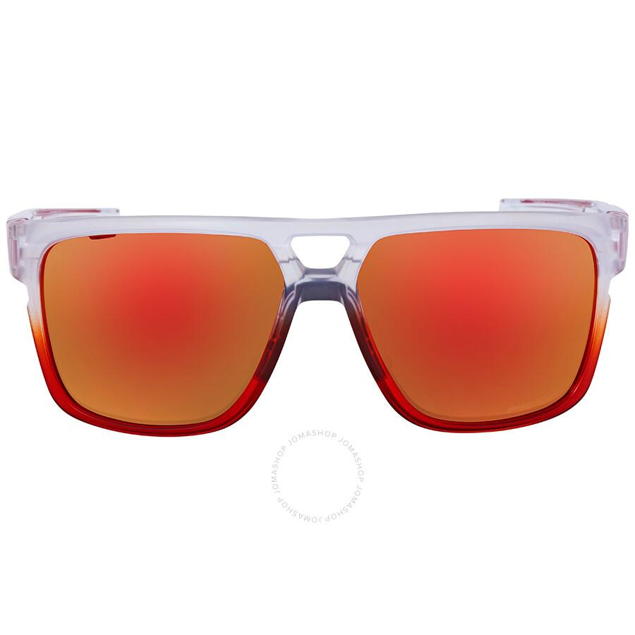 8c47b1067f1b Oakley Crossrange Patch The Mist Prizm Ruby Rectangular Men s Sunglasses  OO9382 938208 60