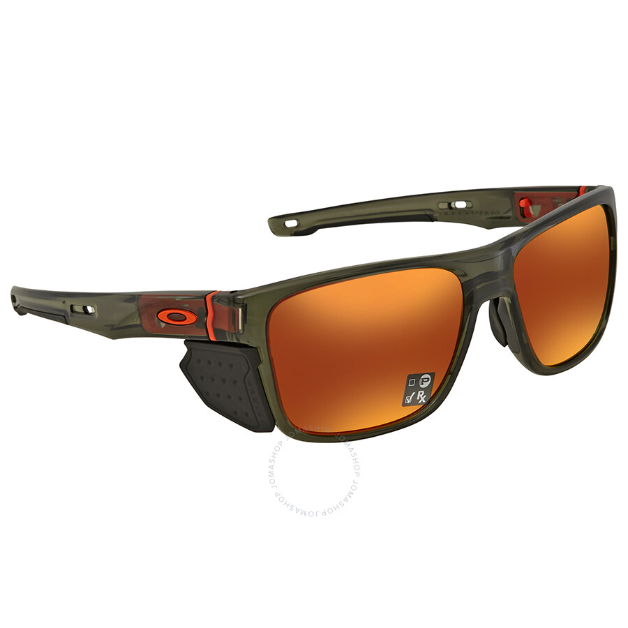 ebfcab0cba Oakley Crossrange Prizm Ruby Rectangular Men s Sunglasses OO9361 936111 57  ...