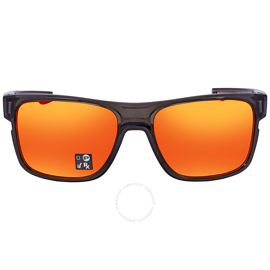a31365f8075 ... Oakley Crossrange Prizm Ruby Rectangular Men s Sunglasses OO9361 936112  57 ...