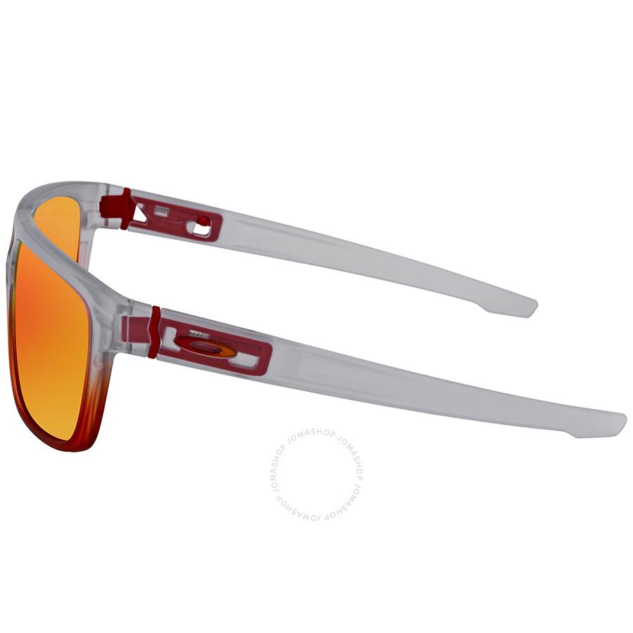... Oakley Crossrange Prizm Ruby Rectangular Men s Sunglasses OO9382 938227  60 57910831bd