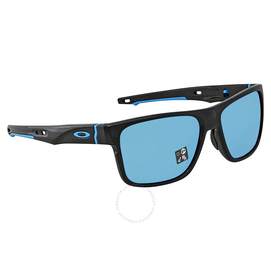 9067eb14b9 Oakley Crossrange Prizm Sapphire Rectangular Men s Sunglasses OO9361 936113  57 ...