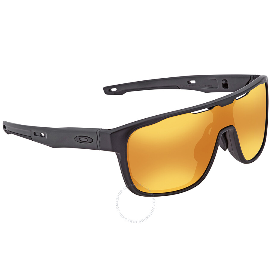 21cdf540495 Oakley Crossrange Shield 24k Iridium Sport Asia Fit Men s Sunglasses OO9390  939004 31