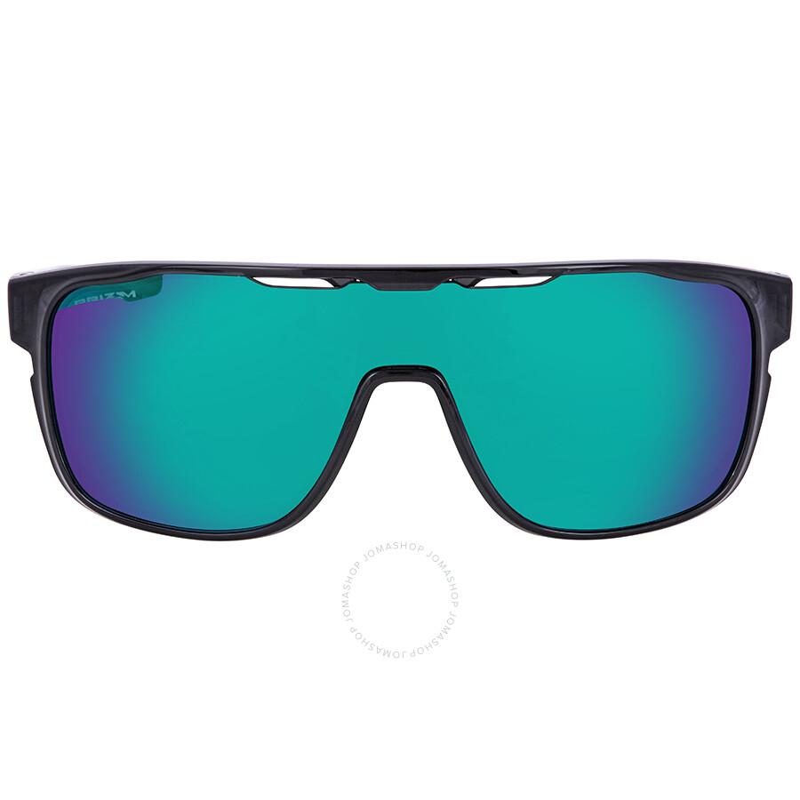 3308358623 ... Oakley Crossrange Shield Prizm Jade Rectangular Men s Sunglasses OO9387  938712 31 ...
