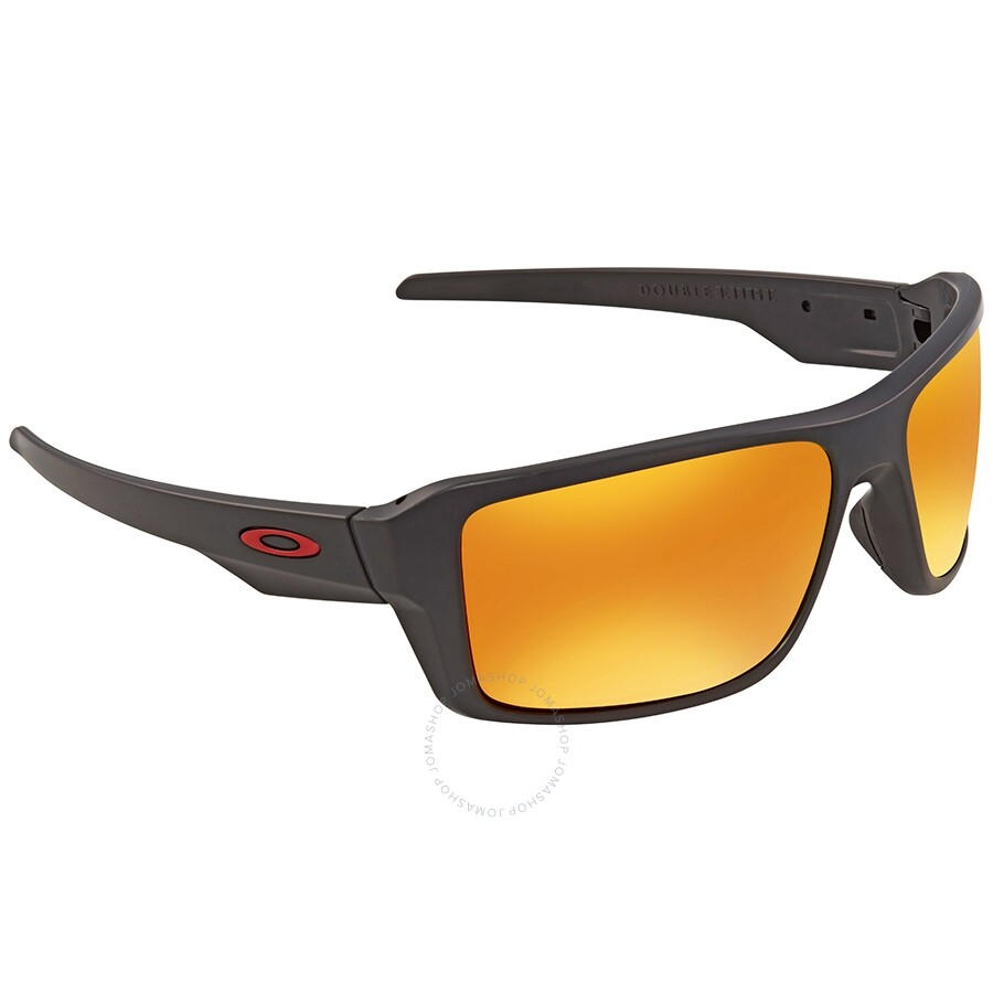 767b00ce7cedb Oakley Double Edge Polarized Prizm Ruby Rectangular Men s Sunglasses OO9380-938005-66  ...