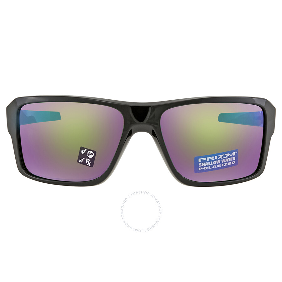 b807ca7621b23 ... Oakley Double Edge Prizm Shallow Water Polarized Polished Black  Sunglasses OO9380 938014 66 ...