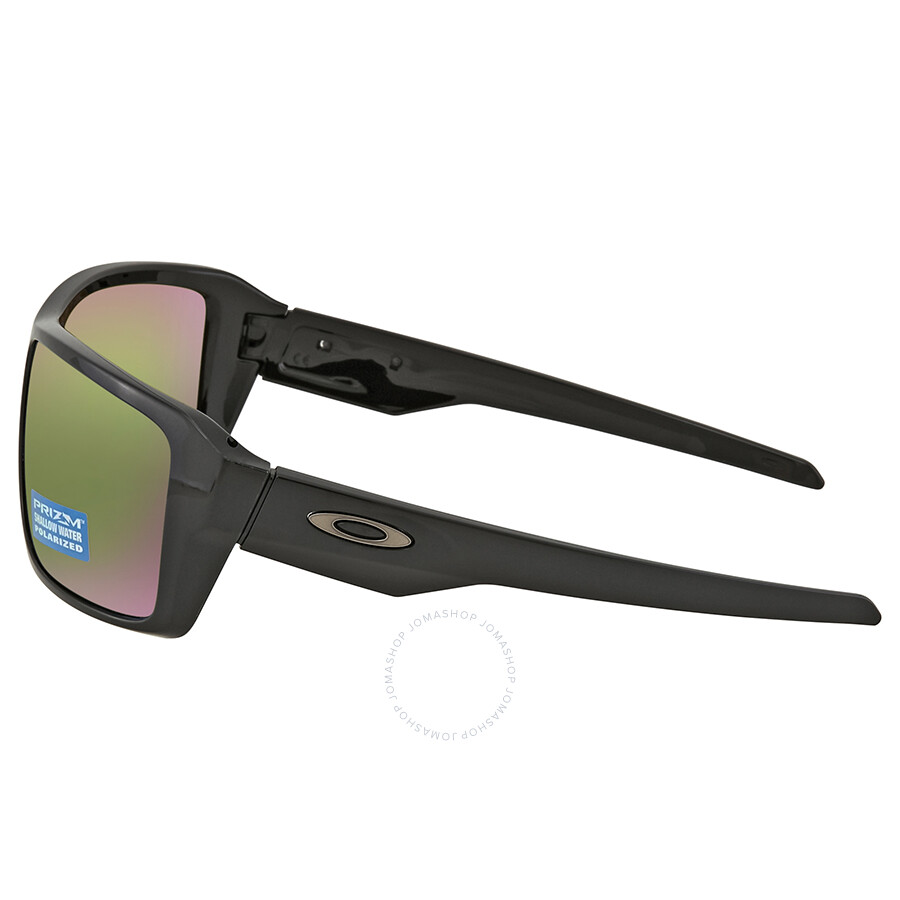 cbc5250be38 ... Oakley Double Edge Prizm Shallow Water Polarized Polished Black  Sunglasses OO9380 938014 66