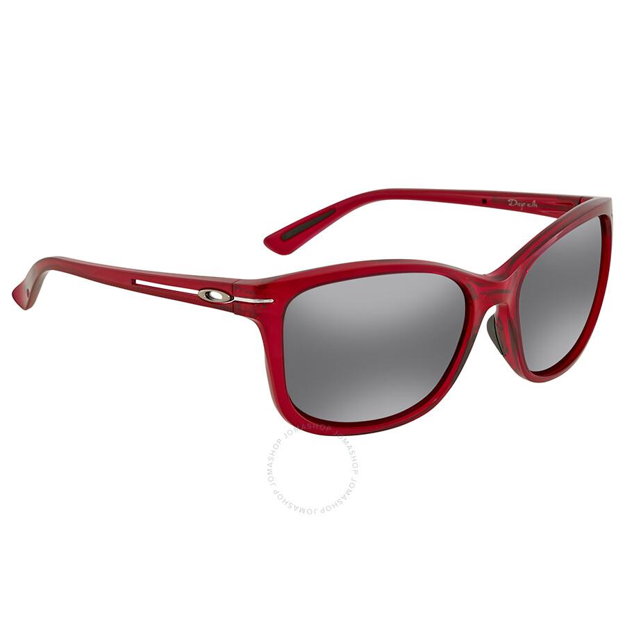 c942207145 Oakley Drop In Black Iridium Square Ladies Sunglasses OO9232-923208-58 ...