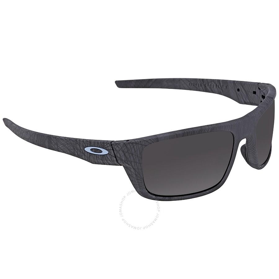 Oakley Drop Point >> Oakley Drop Point Warm Grey Rectangular Sunglasses Oo9367 936720 60