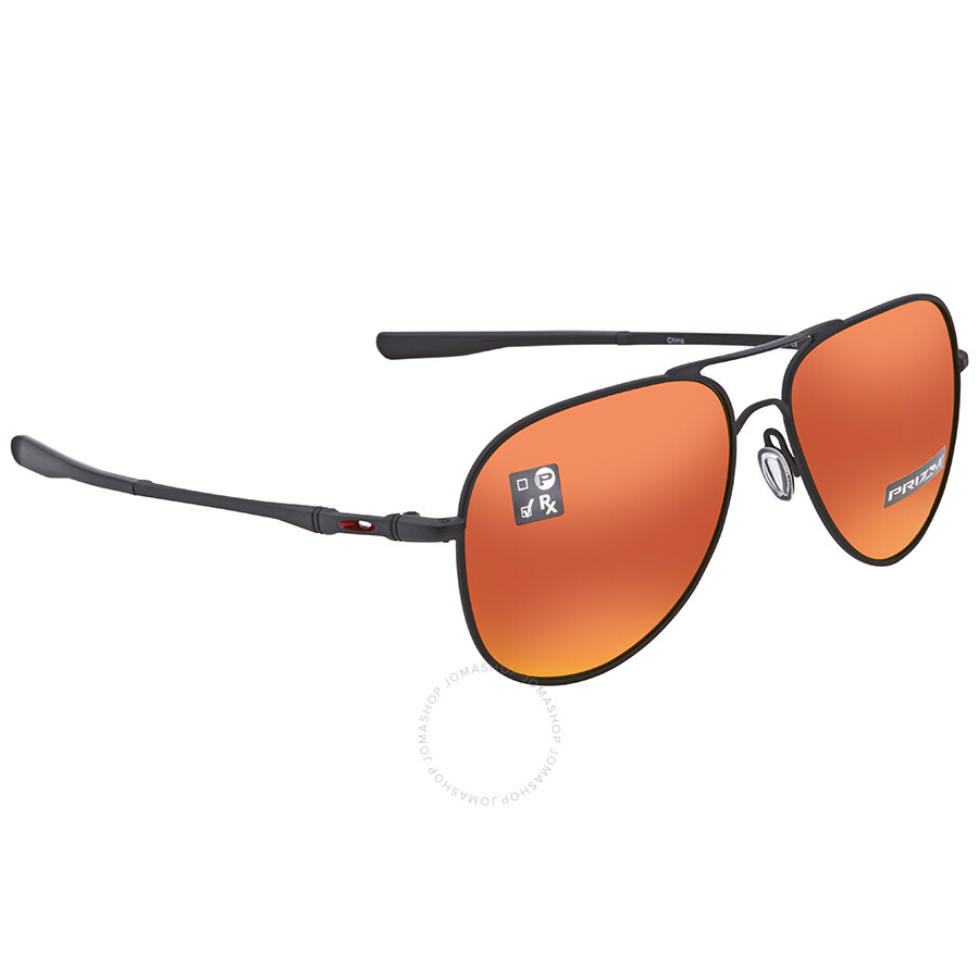 3acbceee94 Oakley Elmont Prizm Ruby Aviator Sunglasses OO4119 411913 60 ...