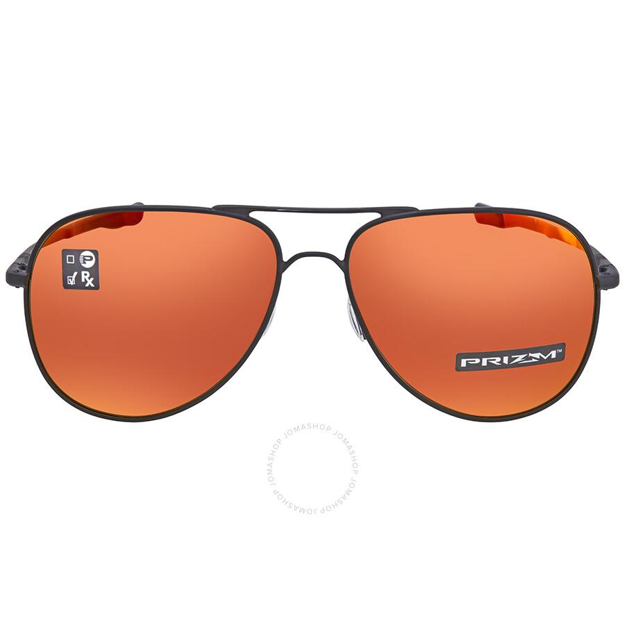 ed917d1e2a ... Oakley Elmont Prizm Ruby Aviator Sunglasses OO4119 411913 60 ...