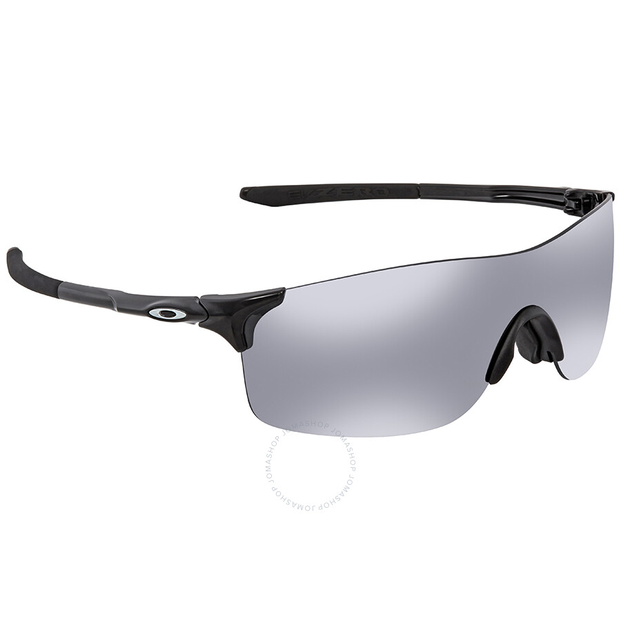67e5939cfe261 Oakley EVZero Pitch Black Iridium Sport Men s Sunglasses OO9388-938801-38  ...