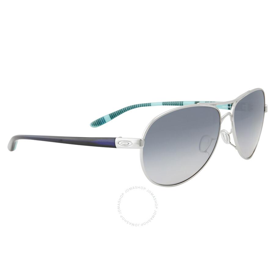 bb83c4fa017 Oakley Feedback Grey Gradient Polarized Sunglasses OO4079-407907-59 ...