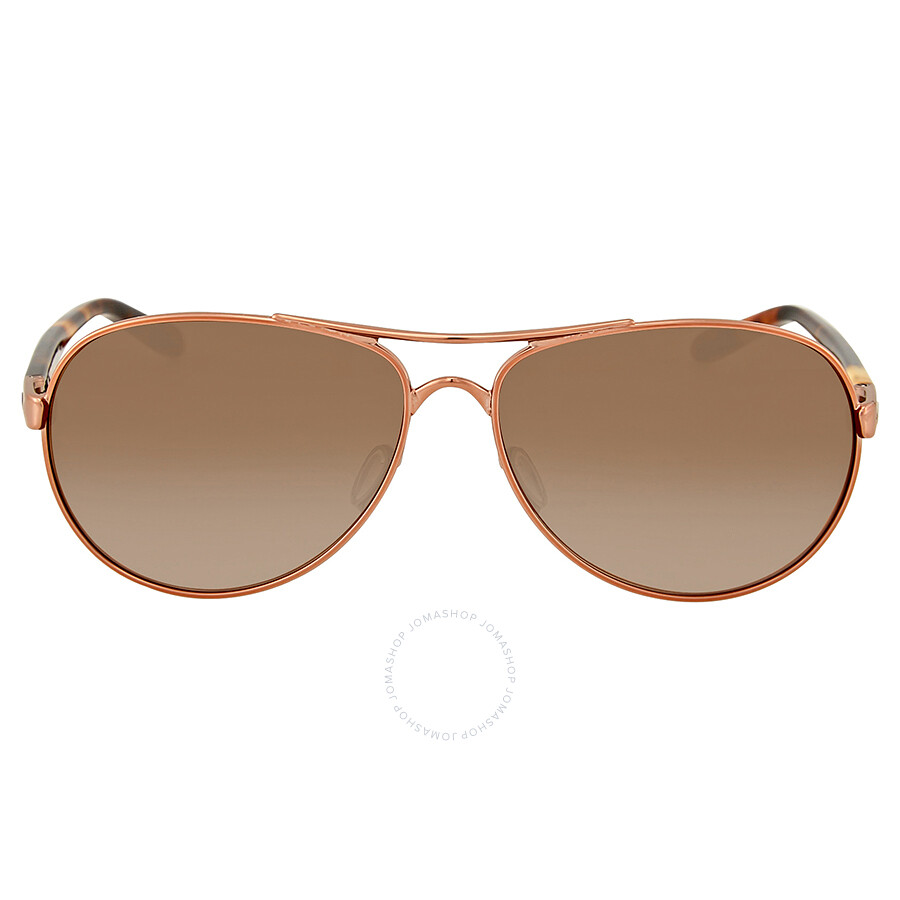 a58eb893c7 Oakley Feedback Rose Gold-Tone Aviator Sunglasses Item No. OO4079-407901-59
