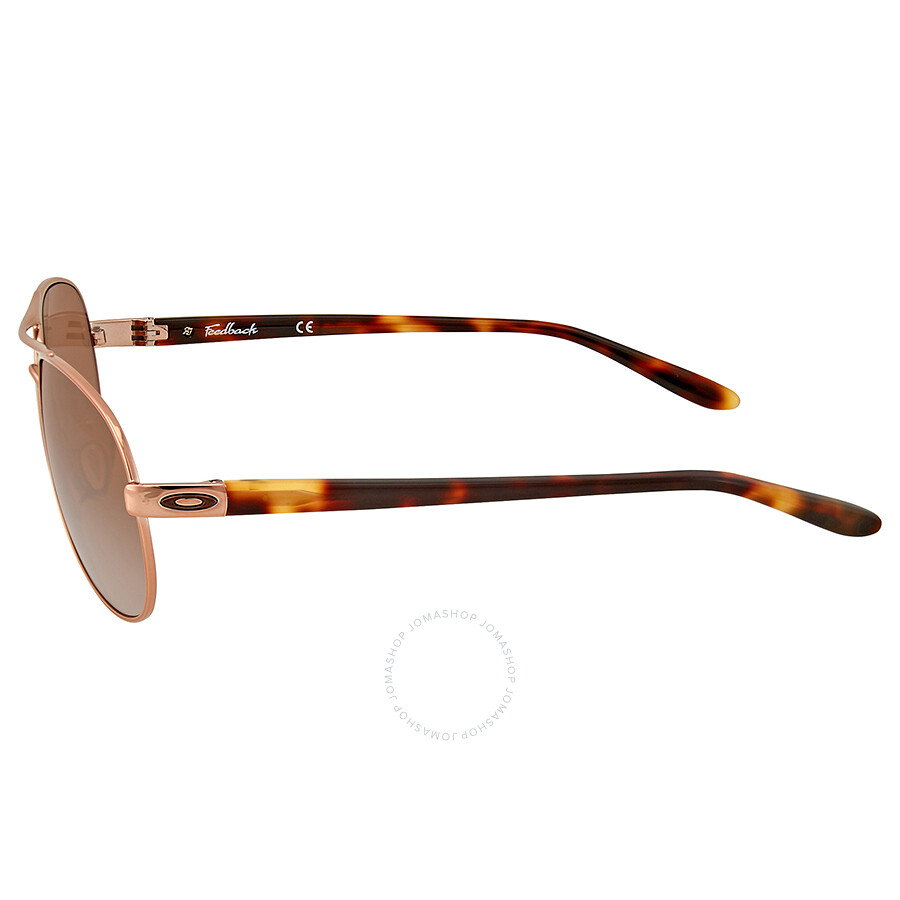 c2dd8bc476 Oakley Feedback Rose Gold-Tone Aviator Sunglasses - Oakley ...