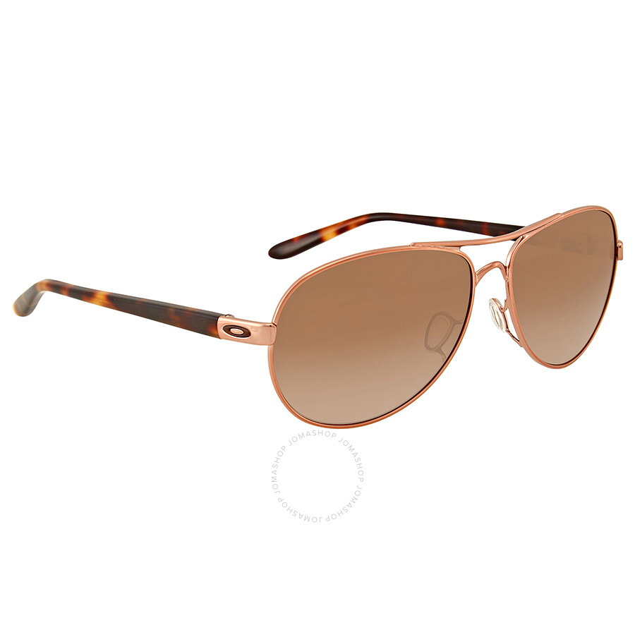4a25b410cbf Oakley Feedback Rose Gold-Tone Aviator Sunglasses - Oakley ...