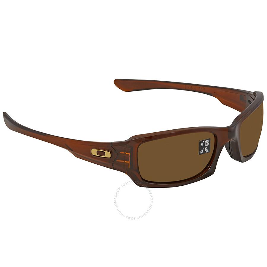 c9aac71840 Oakley Fives Bronze Square Men s Sunglasses OO9238-923808-54 ...