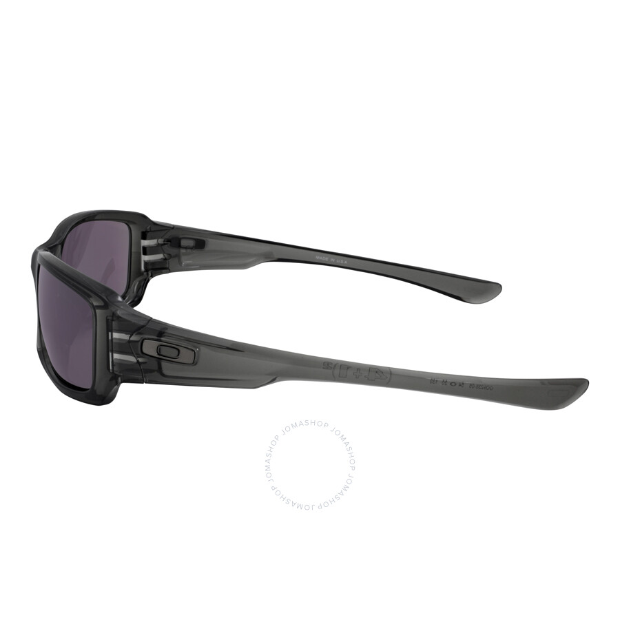 77dc5574ff Oakley Fives Squared Sunglasses - Grey Smoke Warm Grey - Oakley ...