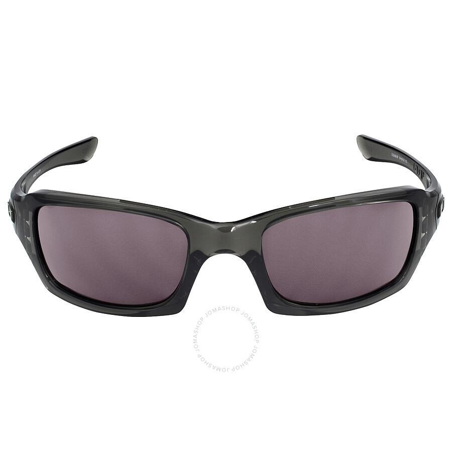 oakley fives squared sunglasses grey smoke warm grey oakley sunglasses jomashop. Black Bedroom Furniture Sets. Home Design Ideas