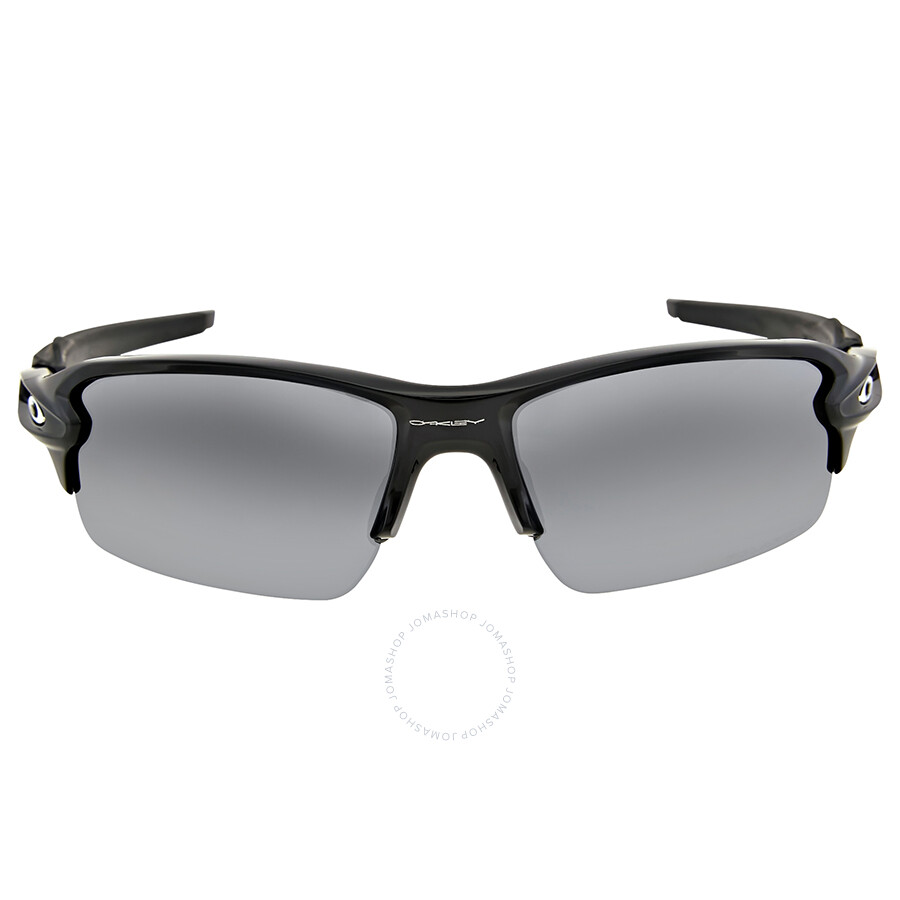 8888931973 Oakley Flak 2.0 Black Iridiun Polarized Sunglasses OO9295-929507-59 ...