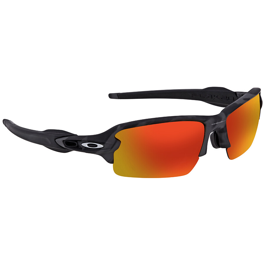 00e0305ec0 Oakley Flak 2.0 Prizm Ruby Rectangular Men s Asian Fit Sunglasses OO9271  927127 61 ...